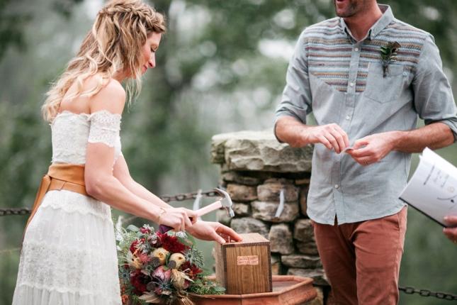 You me unity trendy ceremony ideas meg39s modern weddings for Love letter wedding ceremony